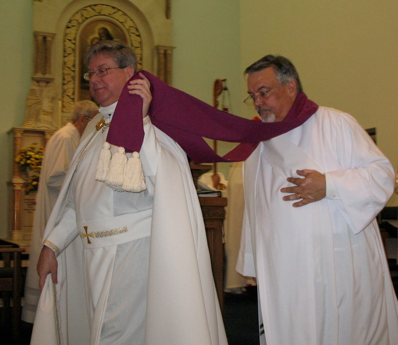 Procession as Subdeacon